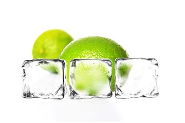 Limetten auf Eis