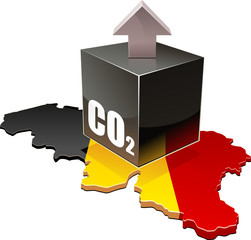 Émissions de CO2 de la Belgique (détouré)