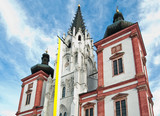 Gothic Pilgrimage Church Mariazell in Lower Austria poster