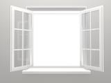 Fototapeta Białe okno