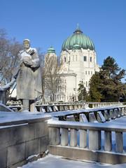 wiener zentralfriedhof - kirche