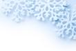 Schneeflocken Karte Weihnachten Makro