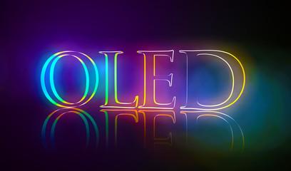 3D Typografie OLED