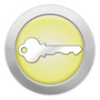 "Light Colored Icon (Yellow) ""Key / Login Symbol"""