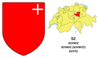 Cantoni della Svizzera: Svitto (Schwiz, Swhwitz)