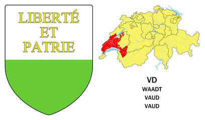 Cantoni della Svizzera: Vaud (Waadt)