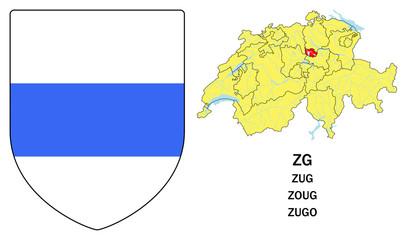 Cantoni della Svizzera: Zugo (Zug, Zoug)
