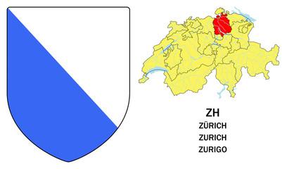 Cantoni della Svizzera: Zurigo (Zürich, Zurich)