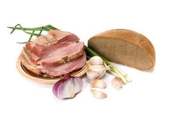 lard and bread