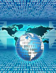 world map,binary,global