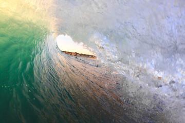 Inside barrel wave