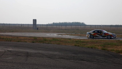 Car drift on race - edit cut
