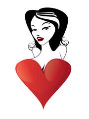 Valentine day card 04