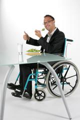 Handicap repas
