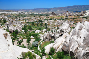 Kiliklar valley in Cappadocia, landmark of Turkey