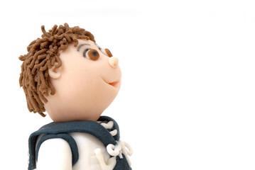 fondo muñeco niño de primera comunion