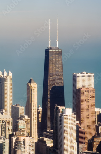 John Hancock Buiding from Sears Tower, Chicago