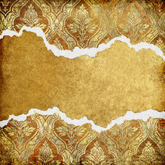 vintage background with tattered borders