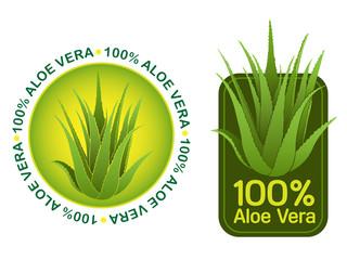 100% Aloe Vera Seals