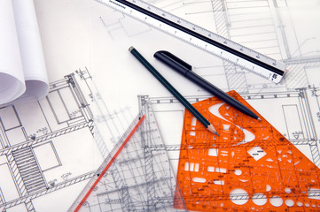 Blueprints and rulers