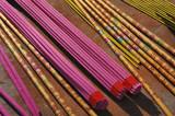 Buddhism incense sticks poster