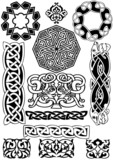 Celtic vector art-collection on a white background.