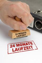 24 monate laufzeit