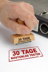 30 tage kostenlos testen