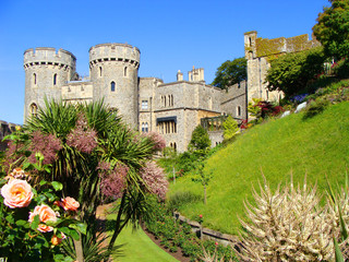 Windsor Castle and its gardens