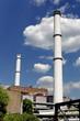 Kraftwerk Schornsteine