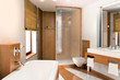 Bathroom accented in Wood II