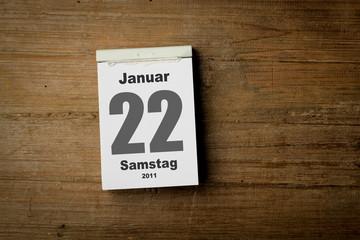 22 Januar