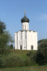 XII century Church on the Nerl in Bogolyubovo Russia