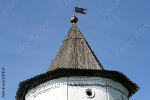 Tower in Yuriev-Polsky Russia