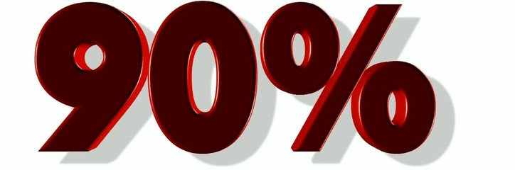10% to 100%