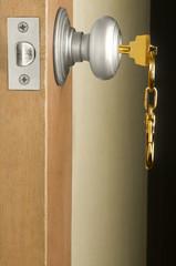 Cerradura con llave