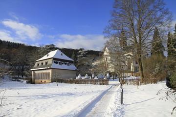 Orangerie des Kloster Eberbach im Winter
