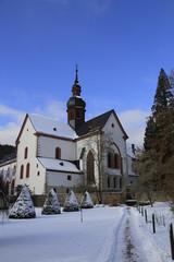 Kloster Eberbach im Winter