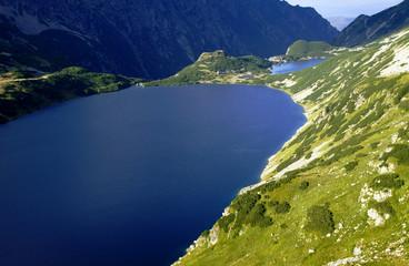 dwa jeziora w górach 3