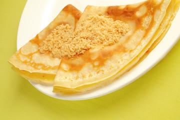 Crêpes au sucre vergeoise blonde serie marketing 3 sur 5