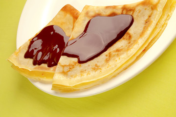 Crêpes au chocolat série marketing 4 sur 5