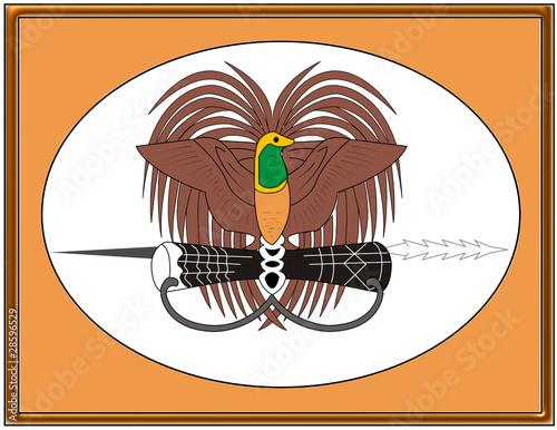Papua New Guinea National Emblem