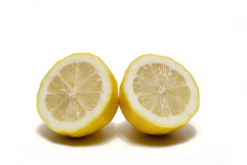 Two Lemon Halves