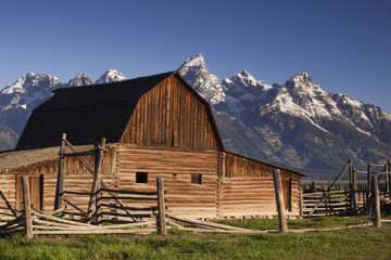 Old Barn at the Tetons