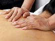 sanfte Rücken Massage