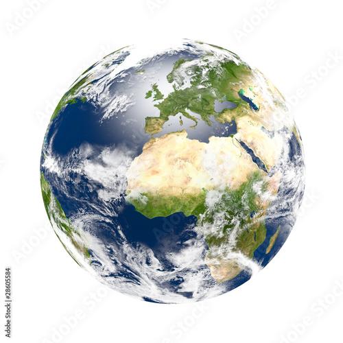 Plexiglas Planète terre 1