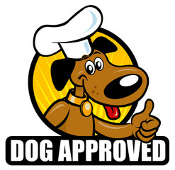 Dog Approved Seal version Chef