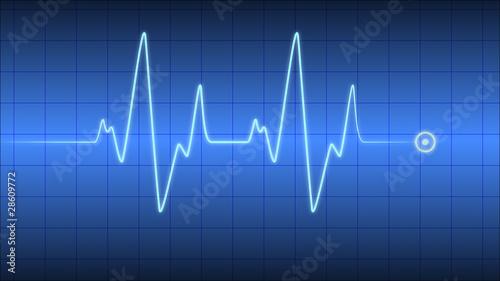 Herzfrequenz Herzschlag Kardio Cardio - 28609772
