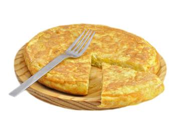Ración de tortilla.