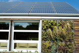 Solar House Photovoltaic PV Panels Gray Water Recovery System